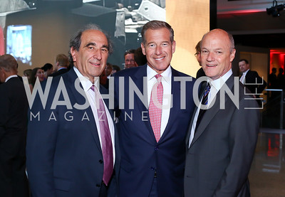 Chairman Andy Lack, Brian Williams, MSNBC President Phil Griffin. Photo by Tony Powell. MSNBC 20th Anniversary. Newseum. June 14, 2016