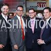 Brendon DelToro, Kenny Day, Adam Weiss, Andrew Kovalcin. Photo by Tony Powell. MSNBC 20th Anniversary. Newseum. June 14, 2016