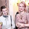 Georgina Horsey, Dana Rooney. Photo by Tony Powell. Philippe Auguin Birthday Party. Residence of France. February 18, 2016