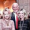 Dana Rooney, Jack Davies and Kay Kendall. Photo by Tony Powell. Philippe Auguin Birthday Party. Residence of France. February 18, 2016