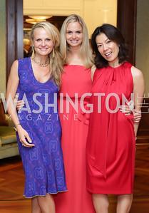 Jamie Dorros, Sharon Bradley, Mai Abdo. Photo by Tony Powell. Maria Elena's Birthday Party. June 3, 2016