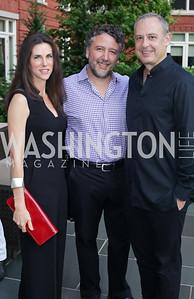 Veronica Valencia, Mario Margolis, Arturo Sarukhan. Photo by Tony Powell. Maria Elena's Birthday Party. June 3, 2016