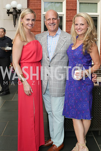 Sharon Bradley, Dave Dorros, Jamie Dorros. Photo by Tony Powell. Maria Elena's Birthday Party. June 3, 2016