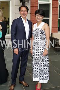 Said and Shamim Jawad. Photo by Tony Powell. Maria Elena's Birthday Party. June 3, 2016