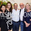 JoAnn Mason, Maria Elena Gutierrez, John Mason, Mariella Trager. Photo by Tony Powell. Maria Elena's Birthday Party. June 3, 2016