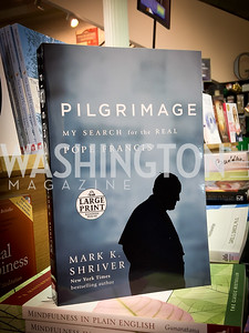 "Photo by Tony Powell. Mark Shriver ""Pilgrimage"" Book Party. Matthews Residence. November 17, 2016"