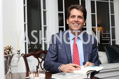 "Mark Shriver. Photo by Tony Powell. Mark Shriver ""Pilgrimage"" Book Party. Matthews Residence. November 17, 2016"