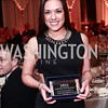 Anna Shaffer accepting the Community Partner Award on behalf of Savills Studely. Photo © Tony Powell. MYB 45th Anniversary Party. Kenwood Country Club. March 19, 2016