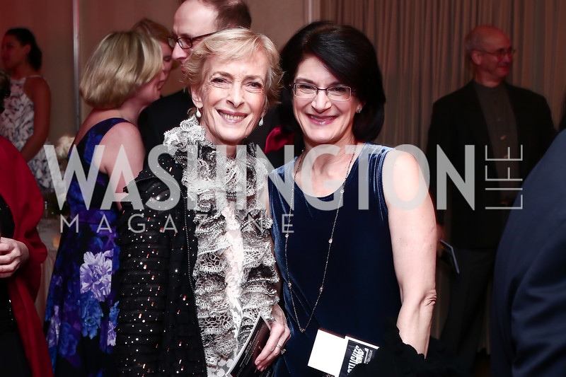 Rhodie Jorgenson, Sarah Kaufman. Photo © Tony Powell. MYB 45th Anniversary Party. Kenwood Country Club. March 19, 2016