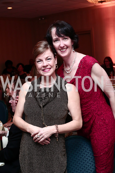 Alison Crosby, Deirdre Byrne. Photo © Tony Powell. MYB 45th Anniversary Party. Kenwood Country Club. March 19, 2016