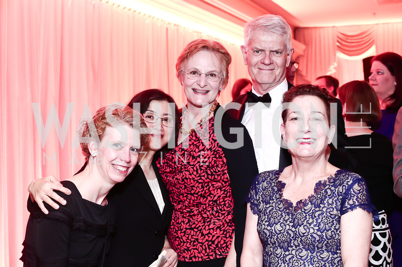 Kathleen Nardella, Shu Chen Tsai, Harriet Moncure Fellows, Jay Fellows, Madlyn Wohlman. Photo © Tony Powell. MYB 45th Anniversary Party. Kenwood Country Club. March 19, 2016