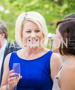 Jenn Riggins. Photo by Erin Schaff. 2016. McLean Project for the Arts Spring Benefit. The Gardens of Hickory Hill, the historic home of Ashley and Alan Dabbiere. May 24, 2016.