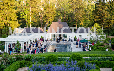 Photo by Erin Schaff. 2016. McLean Project for the Arts Spring Benefit. The Gardens of Hickory Hill, the historic home of Ashley and Alan Dabbiere. May 24, 2016.