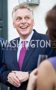 Virginia Gov. Terry McAuliffe. Photo by Erin Schaff. 2016. McLean Project for the Arts Spring Benefit. The Gardens of Hickory Hill, the historic home of Ashley and Alan Dabbiere. May 24, 2016.