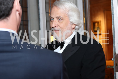 Maestro Philippe Auguin. Photo by Tony Powell. Michelin Guide DC Launch Party. Residence of France. September 13, 2016