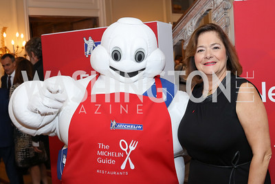 Claire Dorland Clauzel. Photo by Tony Powell. Michelin Guide DC Launch Party. Residence of France. September 13, 2016