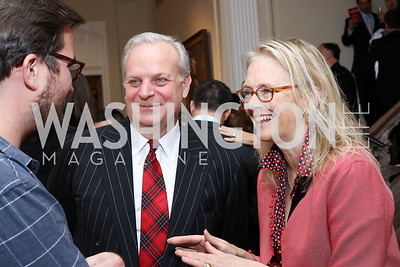 David Deckelbaum, Jennifer Isham. Photo by Tony Powell. Michelin Guide DC Launch Party. Residence of France. September 13, 2016