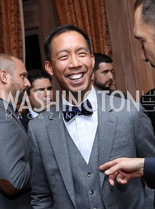 Ben Chang. Photo by Tony Powell. Michelin Guide DC Launch Party. Residence of France. September 13, 2016