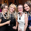 Marie Helene Zavala, Polly Wiedmaier, Annie Boutin King, Julie Albert. Photo by Tony Powell. Michelin Guide DC Launch Party. Residence of France. September 13, 2016