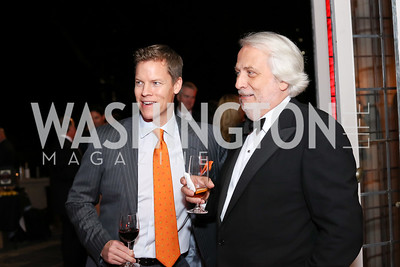Campbell Marshall, Maestro Philippe Auguin. Photo by Tony Powell. Michelin Guide DC Launch Party. Residence of France. September 13, 2016