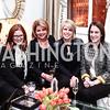 Jennifer Poersch, Meghan Johnson, Penny Lee, Jessica Strauss. Photo by Tony Powell. Reception with Minka Kelly. January 14, 2016