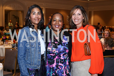 Sonya Ali, Charlotte Reid, Hillary Baltimore. Photo by Tony Powell. N Street Village 10th Annual Empowerment Luncheon. Ritz Carlton. June 9, 2016