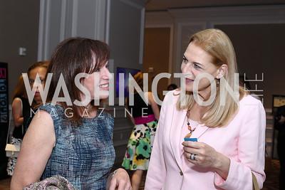 Carole Feld, Nancy Dudley. Photo by Tony Powell. N Street Village 10th Annual Empowerment Luncheon. Ritz Carlton. June 9, 2016