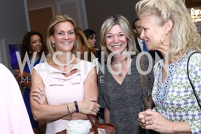 Katharine Weymouth, Kay Kendall, Linda Potter. Photo by Tony Powell. N Street Village 10th Annual Empowerment Luncheon. Ritz Carlton. June 9, 2016