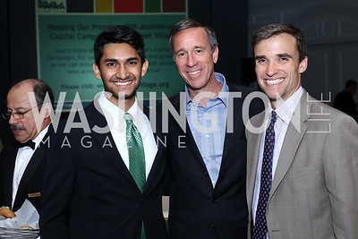Sanjay Gadi, Arne Sorenson, Ben Lundin. Photo by Tony Powell. N Street Village 10th Annual Empowerment Luncheon. Ritz Carlton. June 9, 2016