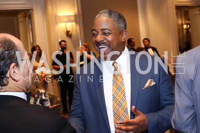 Dennis Carew. Photo by Tony Powell. N Street Village 10th Annual Empowerment Luncheon. Ritz Carlton. June 9, 2016
