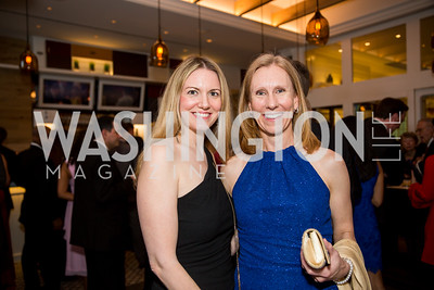 Sara Rosen, Tracy Talbot. Photo by Erin Schaff. 'An Evening for Hope' Gala to Benefit The Children's Inn at NIH. The Ritz-Carlton Tyson's Corner. May 7, 2016.