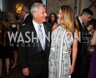 Rob Guerra, Erin Horrell. Photo by Erin Schaff. 'An Evening for Hope' Gala to Benefit The Children's Inn at NIH. The Ritz-Carlton Tyson's Corner. May 7, 2016.
