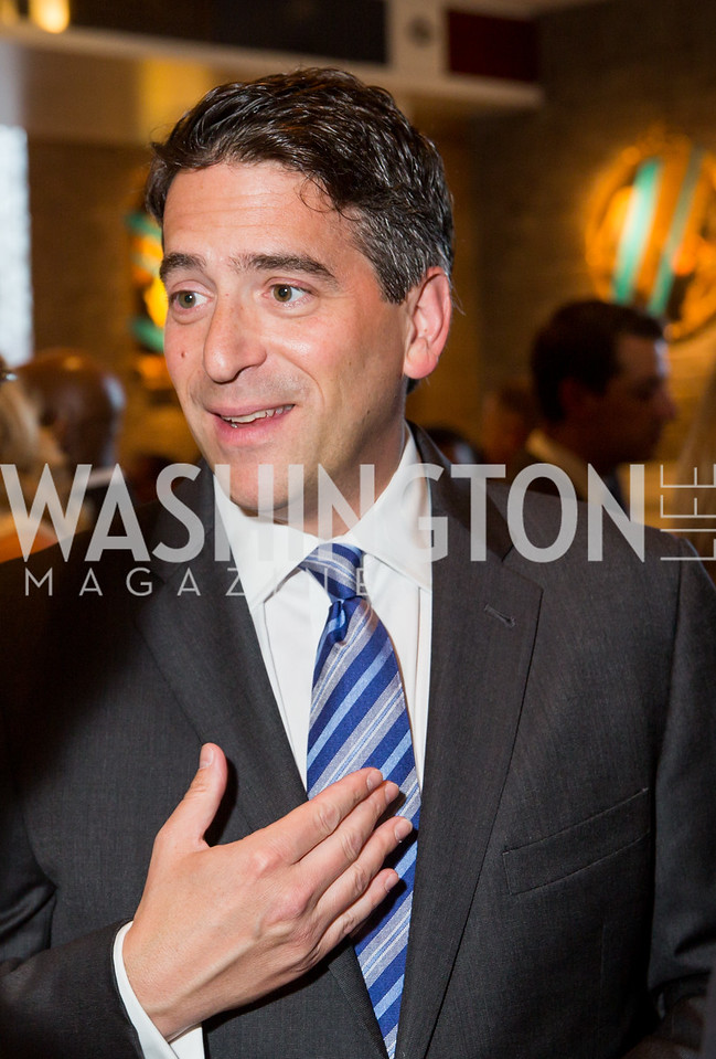 James Rosen. Photo by Erin Schaff. 'An Evening for Hope' Gala to Benefit The Children's Inn at NIH. The Ritz-Carlton Tyson's Corner. May 7, 2016.