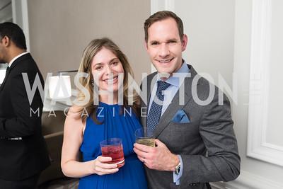 Juliana Laurello and Scott Landsman.
