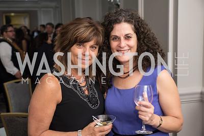 Kathie Durbin and Margaret Barchine.