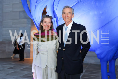 Colleen Daly and Dodge Thompson. Photo by Tony Powell. National Gallery East Wing Reopening. September 29, 2016