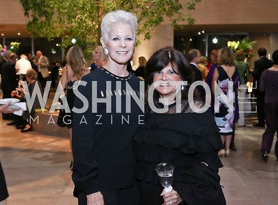 Regina Porten, Judy Cohen. Photo by Tony Powell. National Gallery East Wing Reopening. September 29, 2016