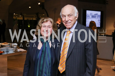 Rheda Becker and Robert Meyerhoff. Photo by Tony Powell. National Gallery East Wing Reopening. September 29, 2016