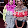 Kidist James, Khadra Hassan. Photo by Tony Powell. Cherry Blossom Art Reception. Willard Hotel. April 14, 2016