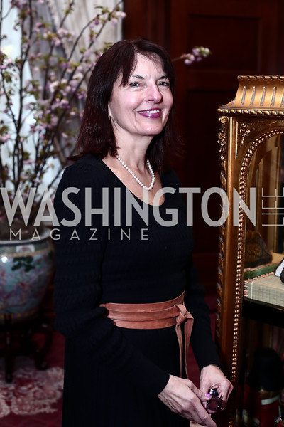Linda Roth. Photo by Tony Powell. Cherry Blossom Art Reception. Willard Hotel. April 14, 2016