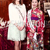 2015 US Cherry Blossom Queen Noelle Verhelst, 2016 Japan Cherry Blossom Queen Aiko Masuda. Photo by Tony Powell. Cherry Blossom Art Reception. Willard Hotel. April 14, 2016