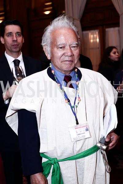 Toshio Takeshi. Photo by Tony Powell. Cherry Blossom Art Reception. Willard Hotel. April 14, 2016