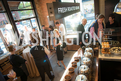 Peet's Coffee and Tea, Opening in Georgetown, September 27, 2016, photo by Ben Droz