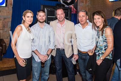 Katy Senkus,  Vince Pepicelli, Matt Pletchall,  Eric Kuwana, Kim Patrick,PockitShip App Launch Party at Don Tito, October 19, 2016