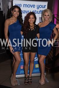 Carissa Hudson, Maya Rubio, Kennedy Taylor, PockitShip App Launch Party at Don Tito, October 19, 2016