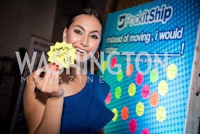 Lina Kalife, PockitShip App Launch Party at Don Tito, October 19, 2016