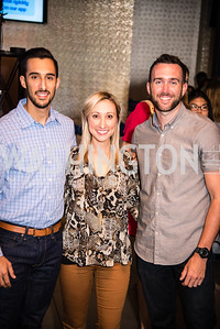 Emily Seala, Brian Carter, PockitShip App Launch Party at Don Tito, October 19, 2016