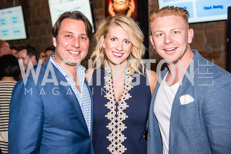 Molly Brady, Jon Kling, PockitShip App Launch Party at Don Tito, October 19, 2016