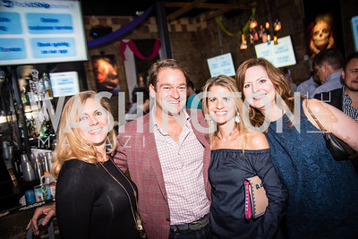 Tara Ashworth, Brad Nierenberg, Callie Nierenberg, Susan McLaughlin, PockitShip App Launch Party at Don Tito, October 19, 2016