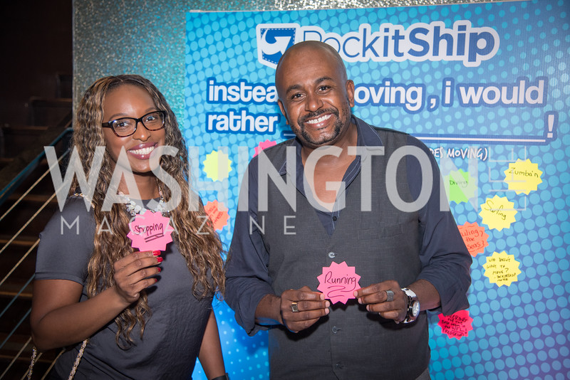 Ivy Bush, Theo Abbott, PockitShip App Launch Party at Don Tito, October 19, 2016